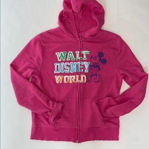 Disney Parks zip up sweatshirt